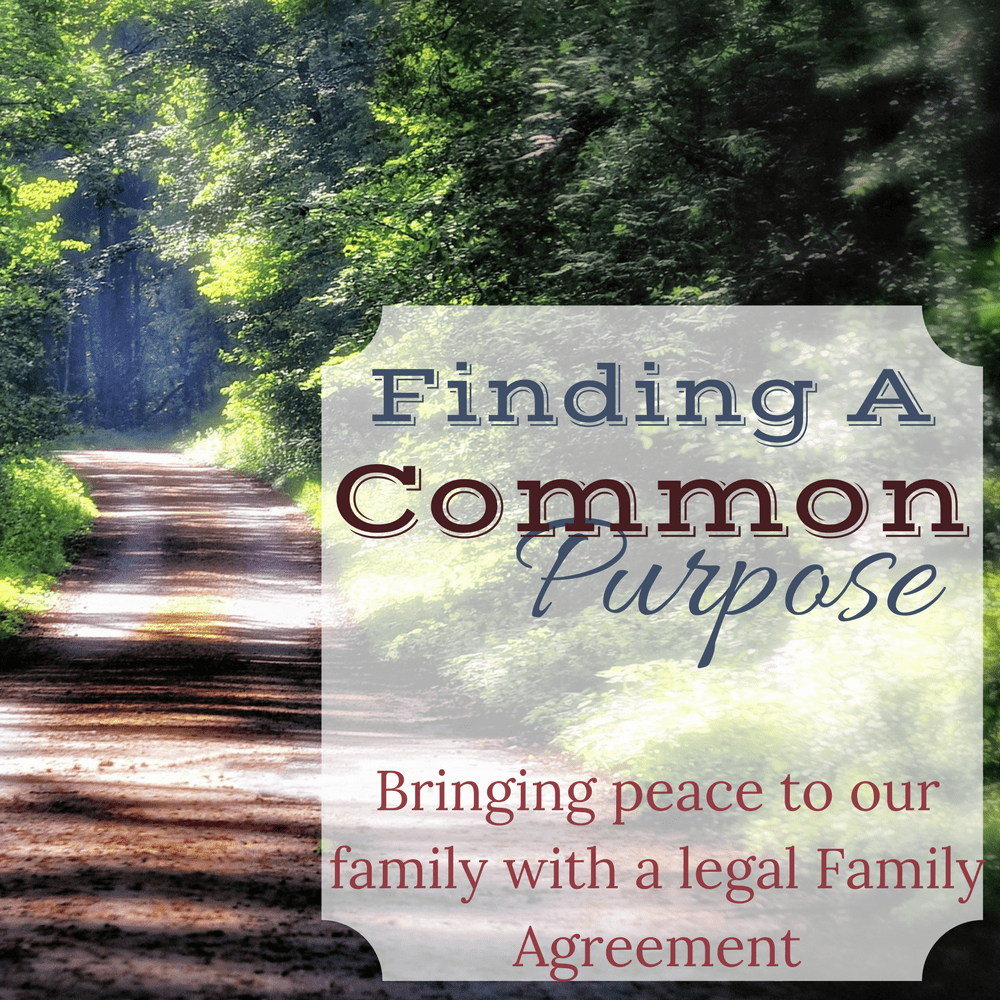 Finding A Common Purpose
