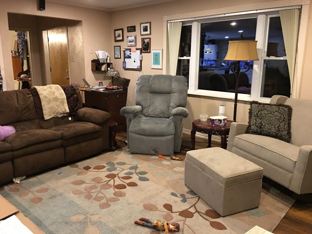 immaculate living room