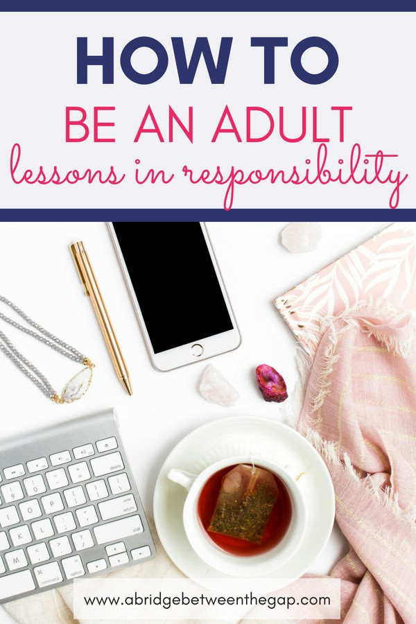 Do you find it easy to blame your parents for your shortcomings? Learn valuable lessons in adulting and how to take responsibility for yourself. | Adult | Life Lessons | Parenting | Caregiving | Self-Care