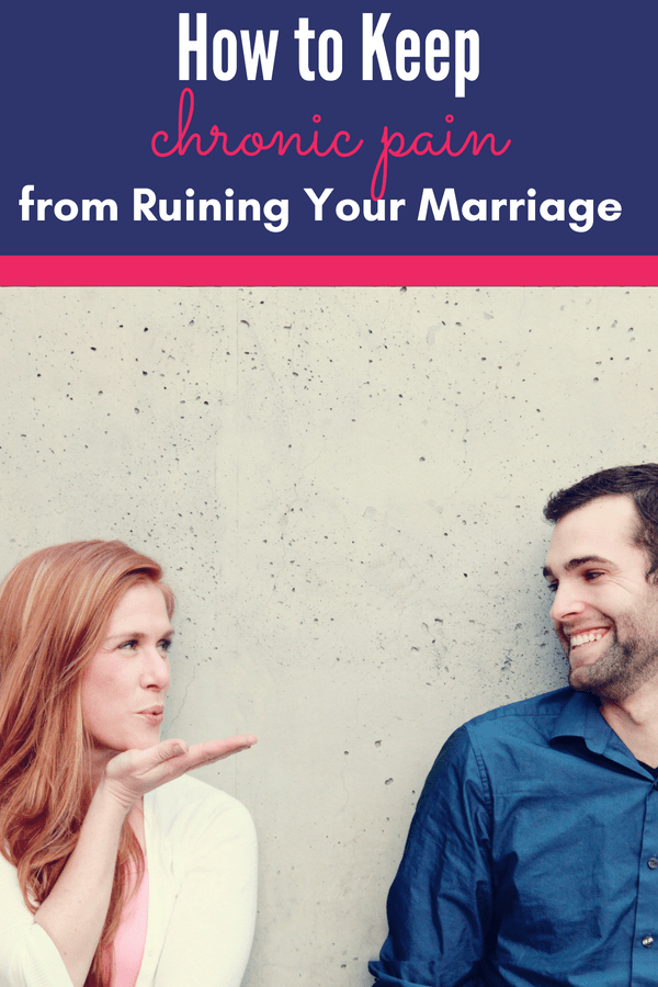 Chronic pain can make marriage difficult for both you and your spouse. Learn how to keep chronic pain from ruining your marriage.