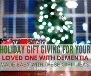 gift guide for dementia