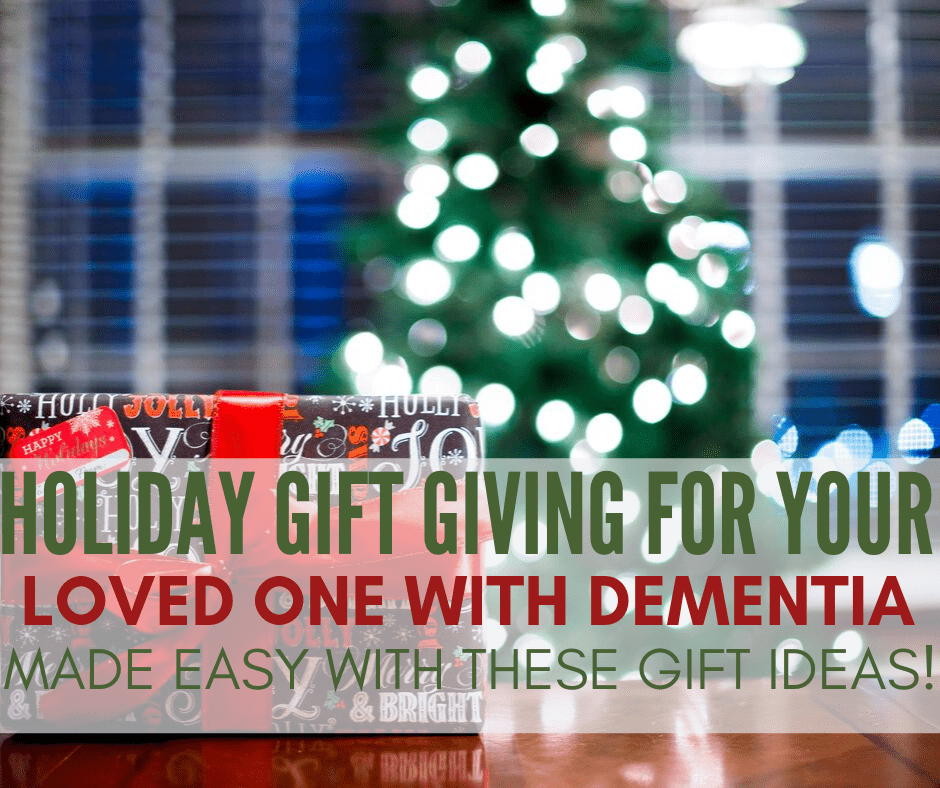 10 No-Fail Gifts for Someone with Dementia