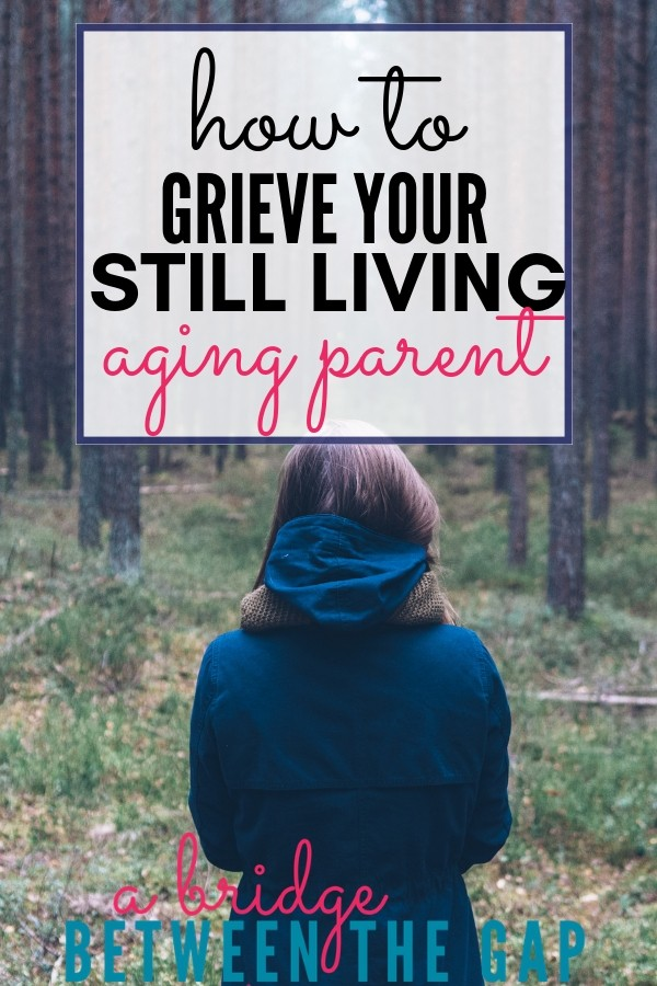 There are few things in this world harder than grieving a still-living person. See them as they are now and not the person they once were.