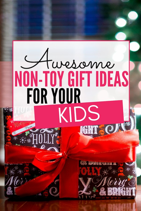 Are you overwhelmed by an overflow of your kid's toys but don't know what else to give them? Here a 10 awesome non-toy gift ideas for kids.