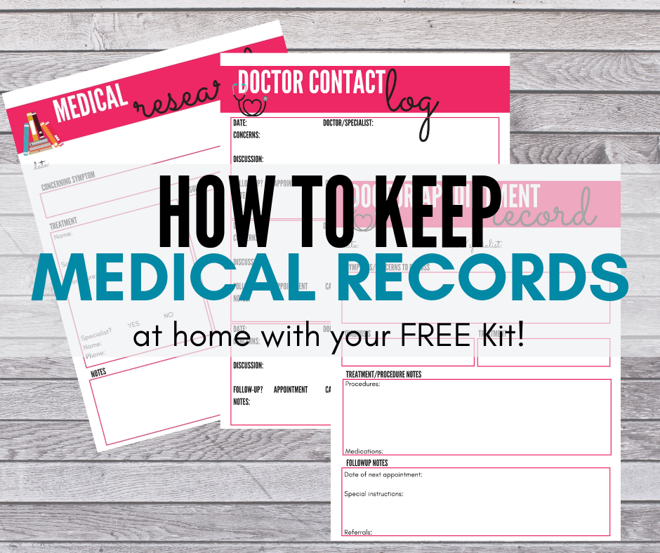 Keeping Medical Records for Your Aging Parent Made Easy