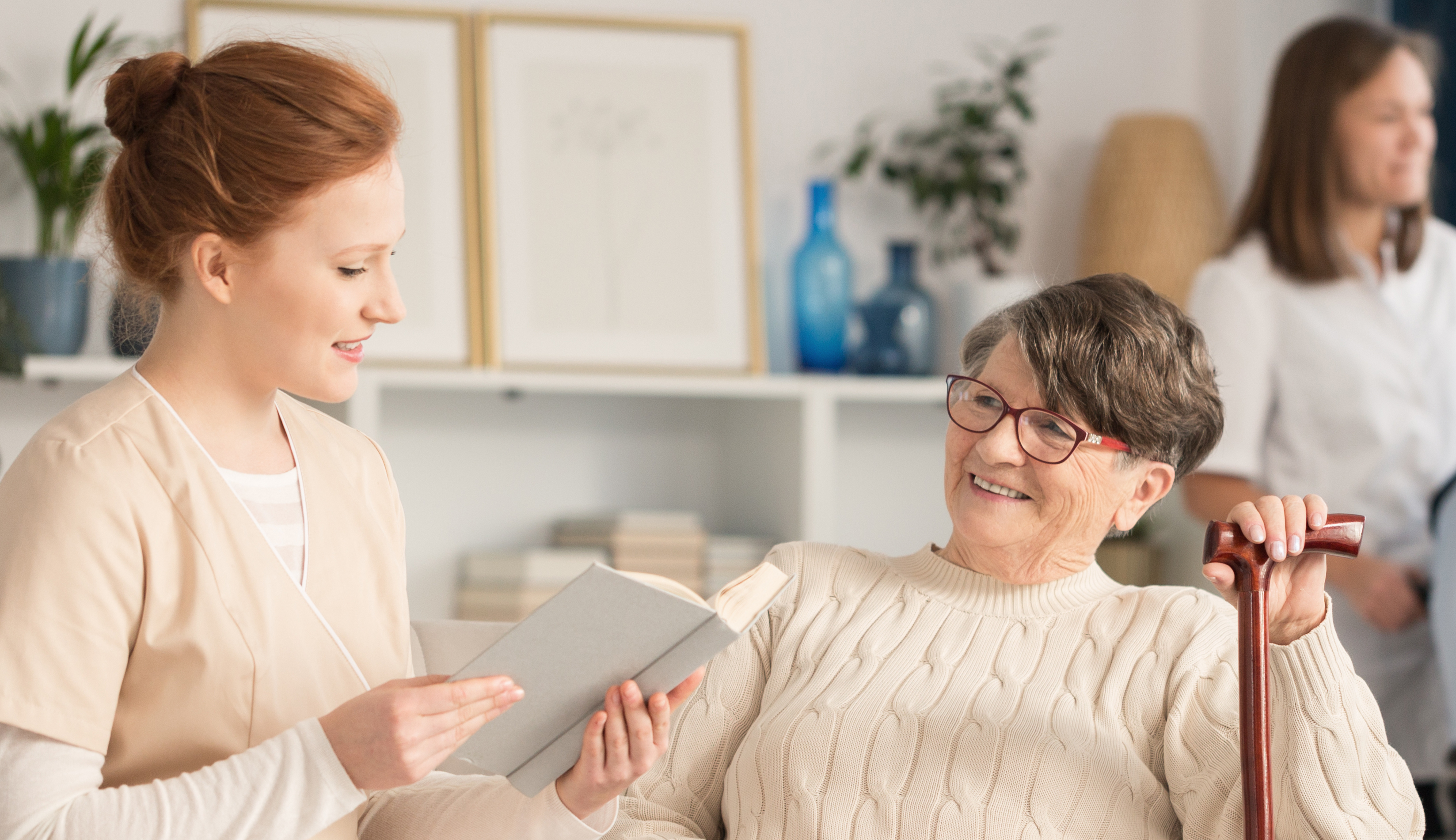 Finding Help for Your Aging Parent When You Can't Be There