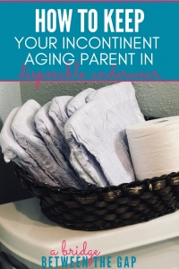 Do you struggle with keeping disposable underwear on your incontinent aging parent? You are not alone! Discover why this is such a problem and how to handle it.