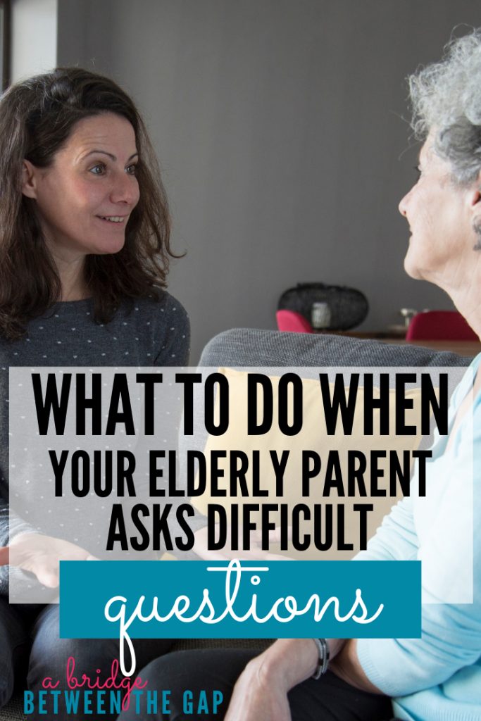 """Why can't I drive?"" is a question a lot of sandwiched homemakers hear. This is a great article that explains this question and others plus gives some sound advice on how to answer. #caregiving #alzheimers #dementia #elderlyparents #parentingparents #sandwichgeneration"