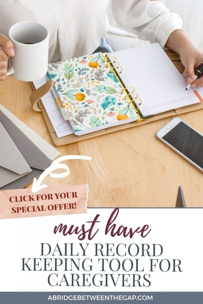 Daily Record Keeping Tool for Caregivers